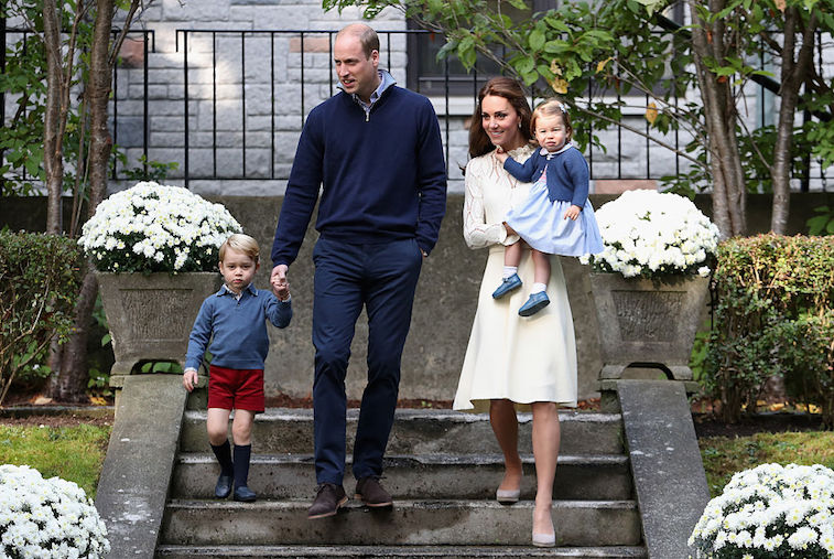 Prince William Kate Middleton with Prince George and Princess Charlotte
