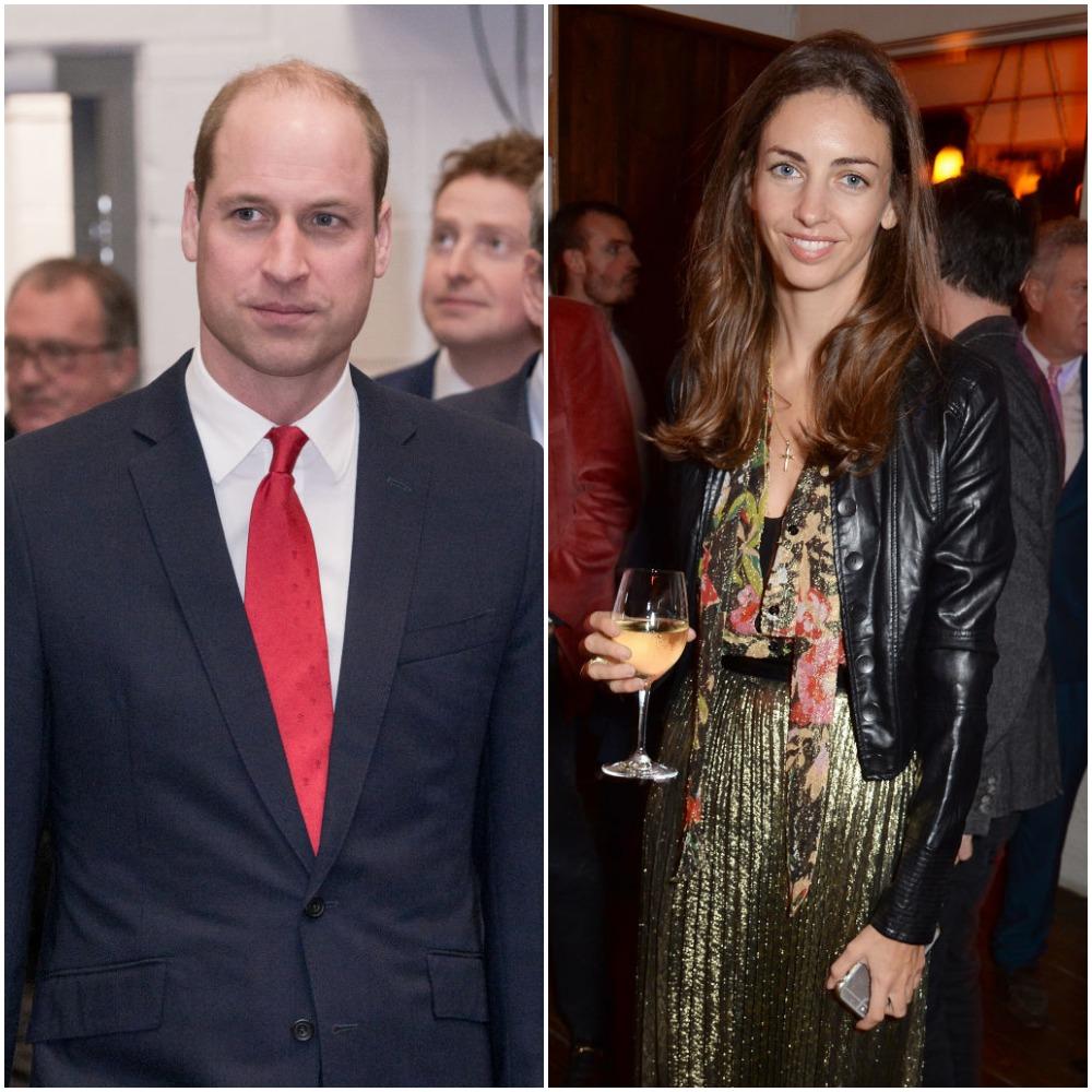 Prince William and Rose Hunbury