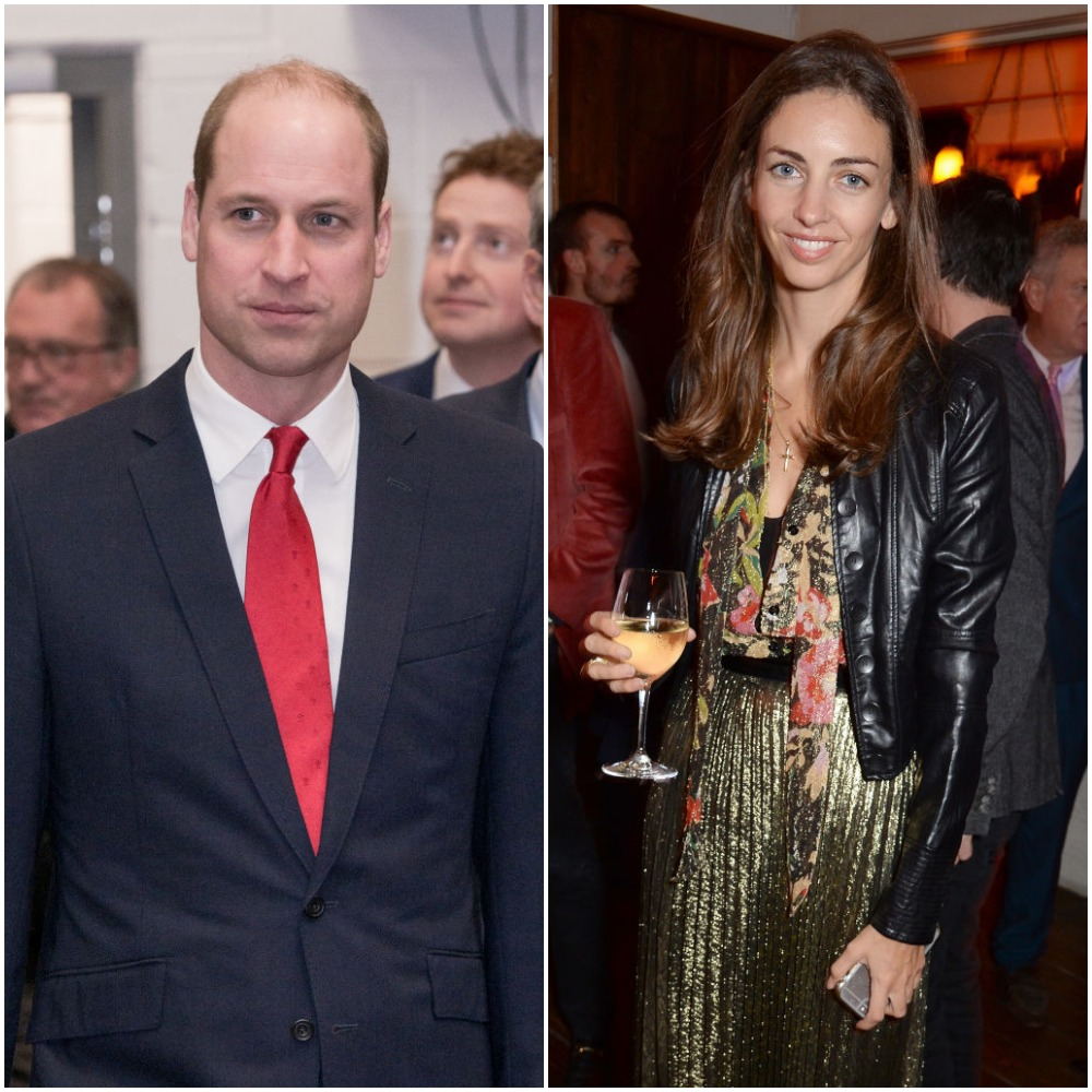 Prince William and Rose Hunbury
