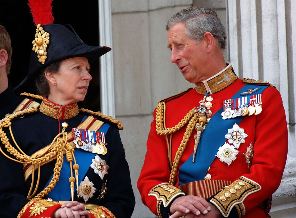 Princess Anne and Prince Charles
