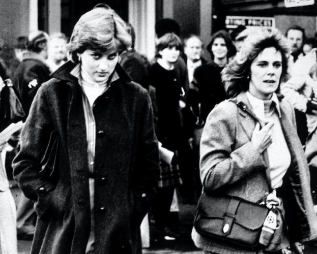 Princess Diana and Camilla Parker Bowles