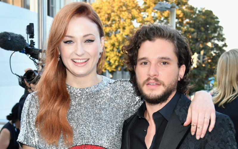 Sophie Turner and Kit Harington