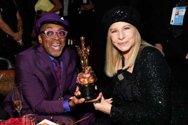 Spike Lee and Barbra Streisand