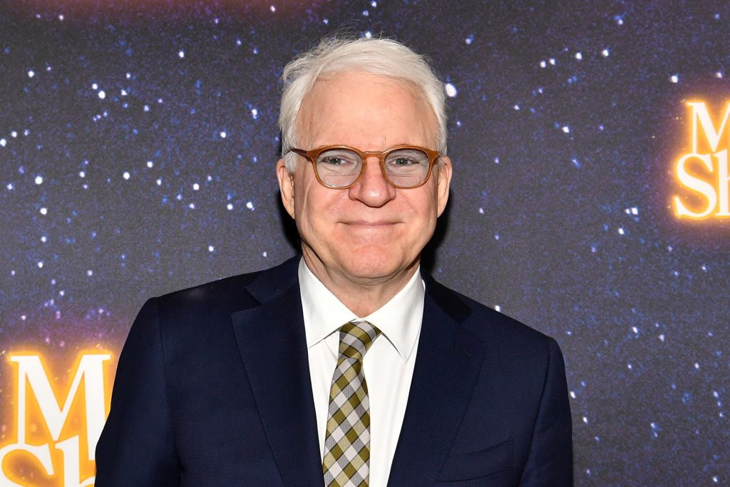 Red carpet photo of Steve Martin