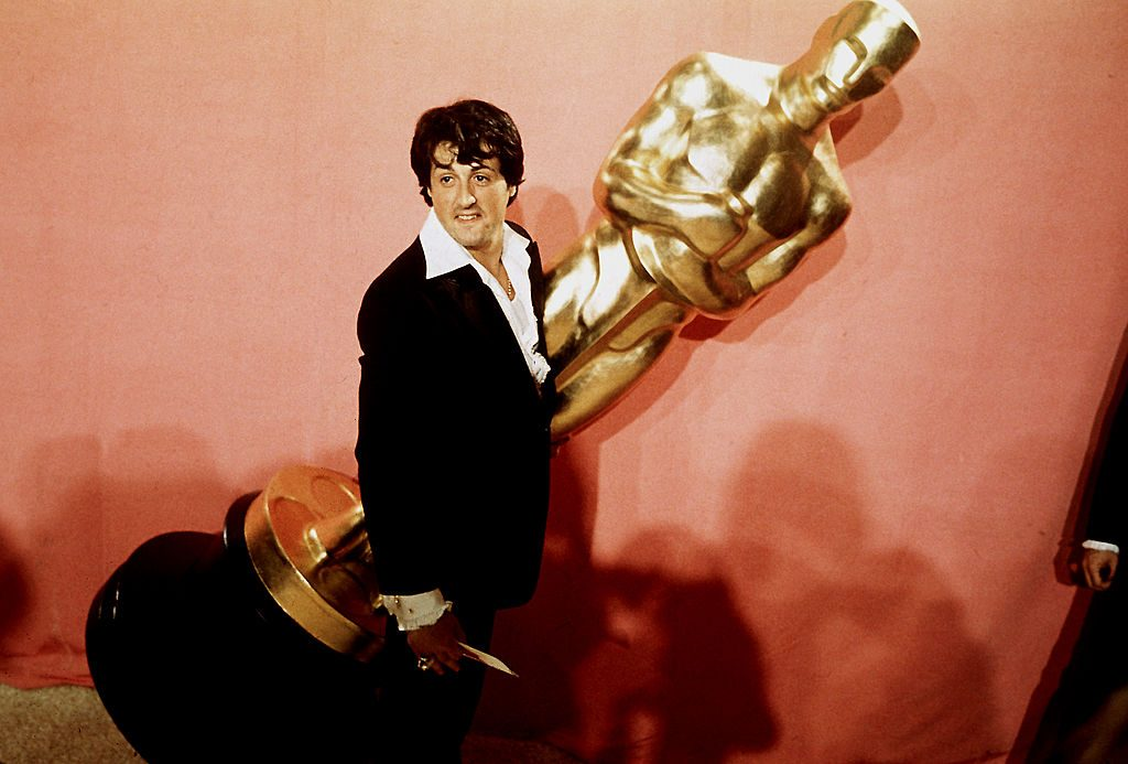 Sylvester Stallone at the Academy Awards