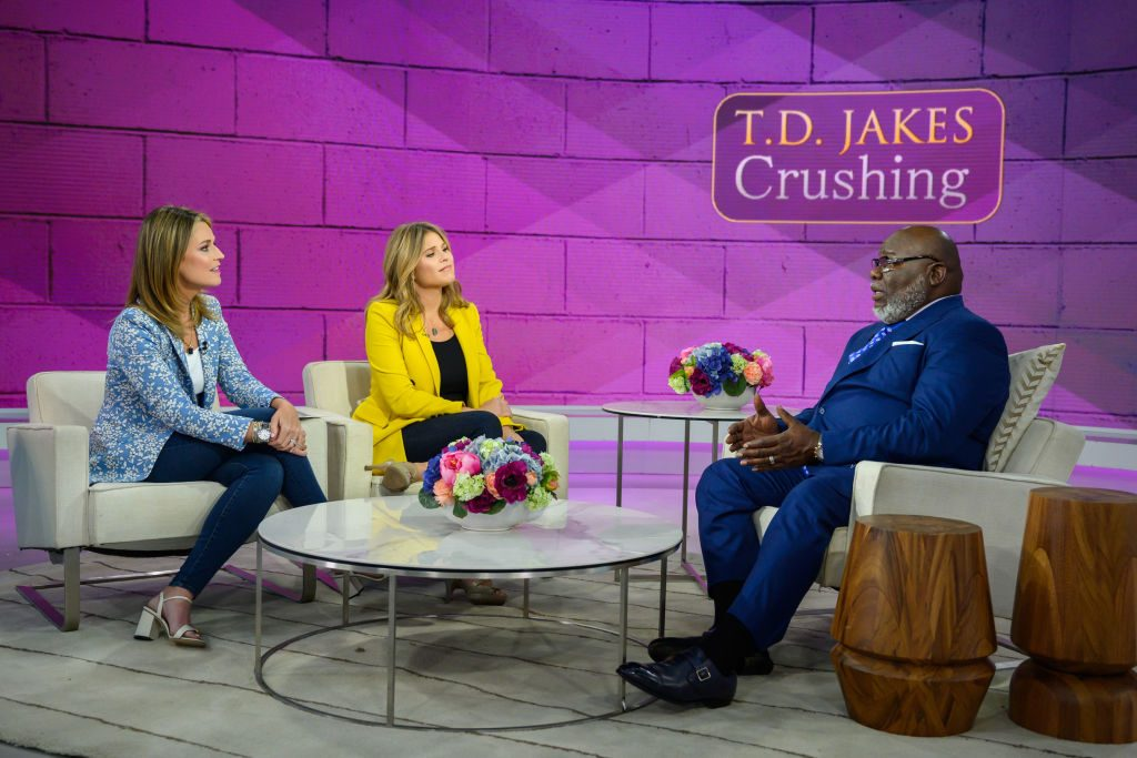 T.D. Jakes on the Today show|Nathan Congleton/NBC/NBCU Photo Bank via Getty Images