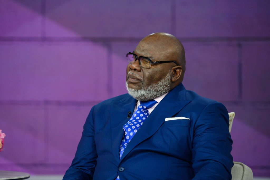 T D  Jakes Book 'Crushing': What to Do When Your World Falls