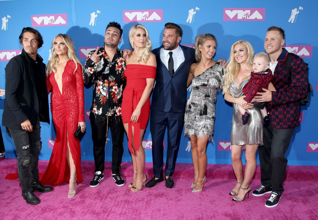 Justin Bobby Brescia, Stephanie Pratt, Frankie Delgado, Ashley Wahler, Jason Wahler, Audrina Patridge, Heidi Pratt, Gunner Pratt and Spencer Pratt