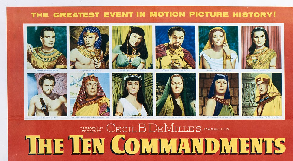 'The Ten Commandments' movie
