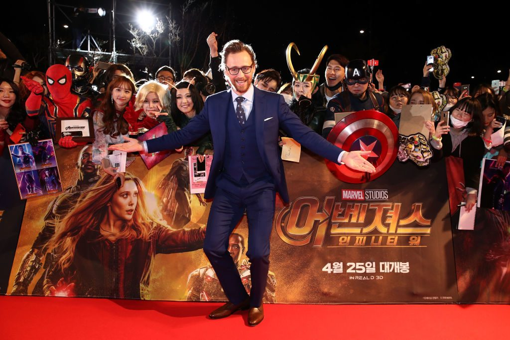 Tom Hiddleston_Avengers Endgame premiere| Chung Sung-Jun/Getty Images