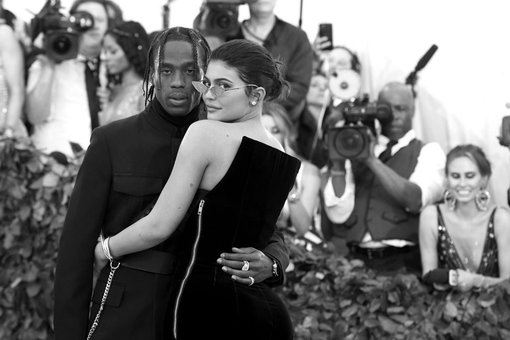 Recording artist Travis Scott and TV personality Kylie Jenner