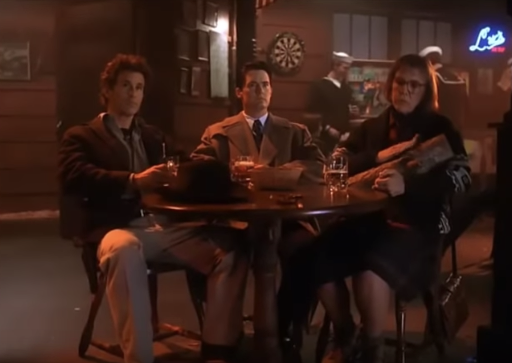 Twin Peaks roadhouse