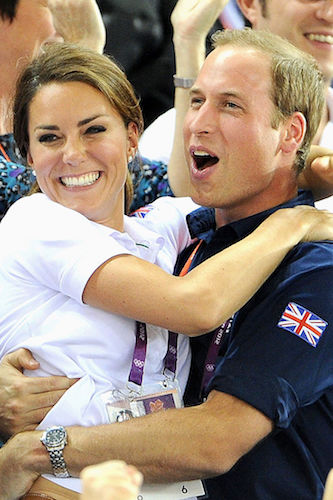 Kate Middleton Prince William 2012 olympics