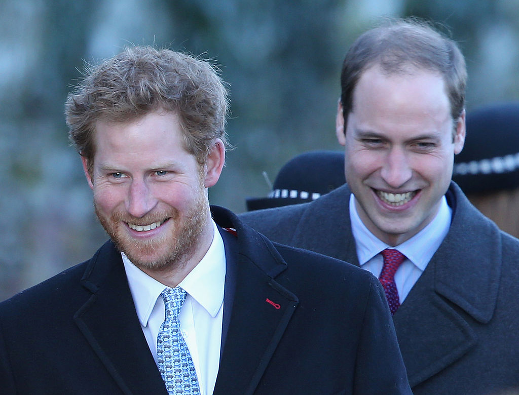 Prince William and Prince Harry