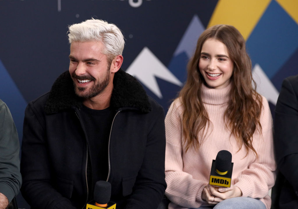 Zac Efron and Lily Collins