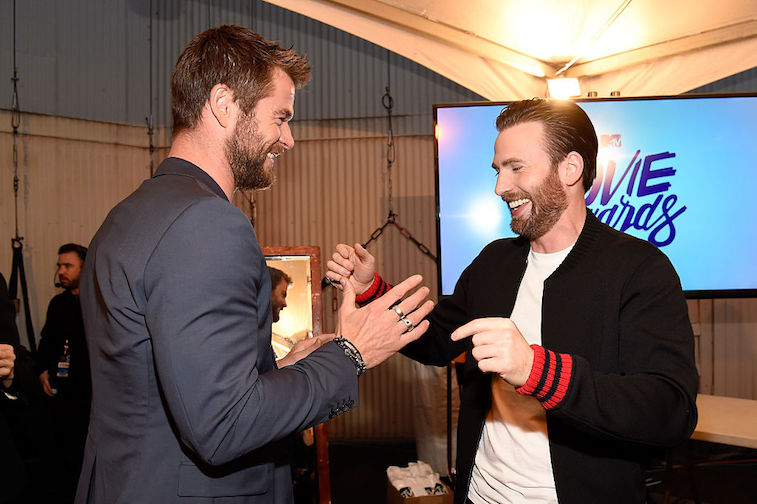 Chris Evans Chris Hemsworth