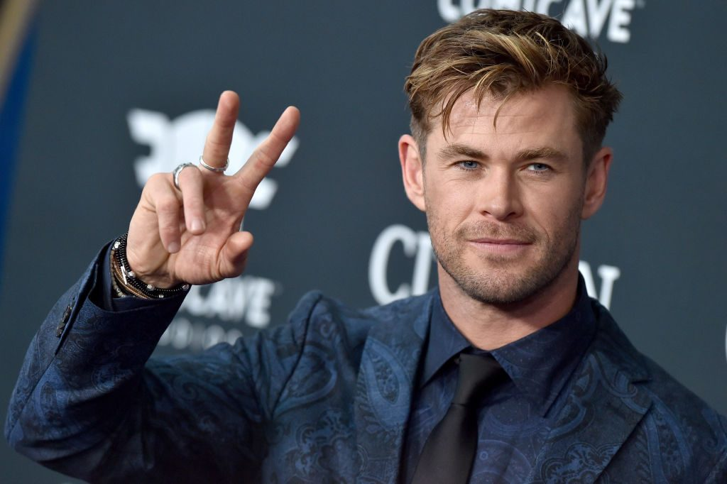 "Chris Hemsworth at World Premiere Of Walt Disney Studios Motion Pictures ""Avengers: Endgame"""