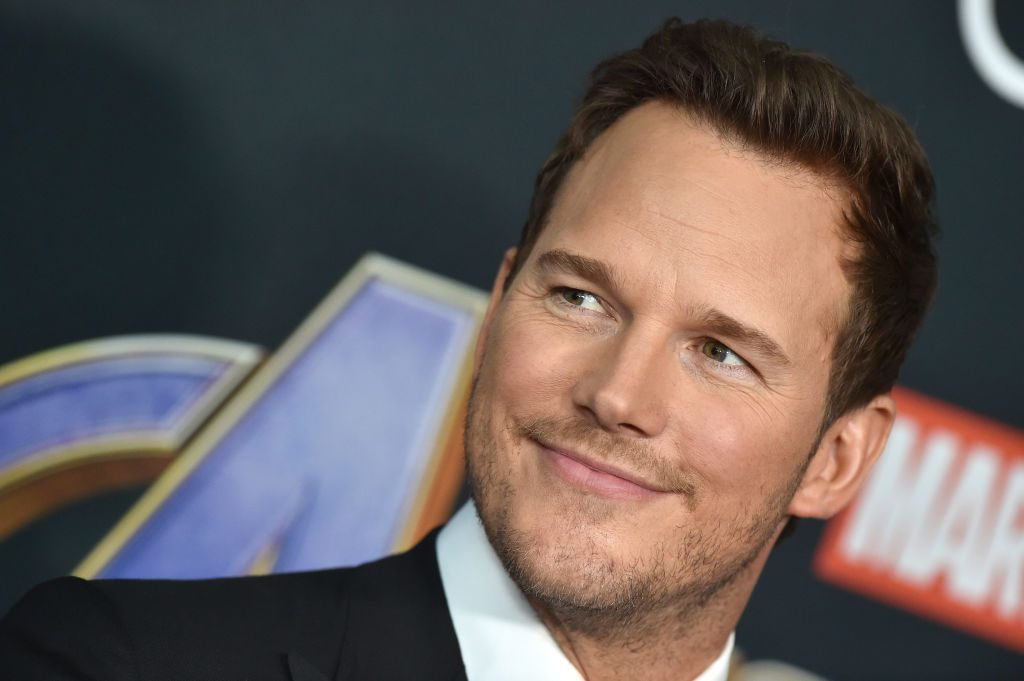 Chris Pratt attends the World Premiere of Avengers: Endgame at Los Angeles Convention Center on April 22, 2019.