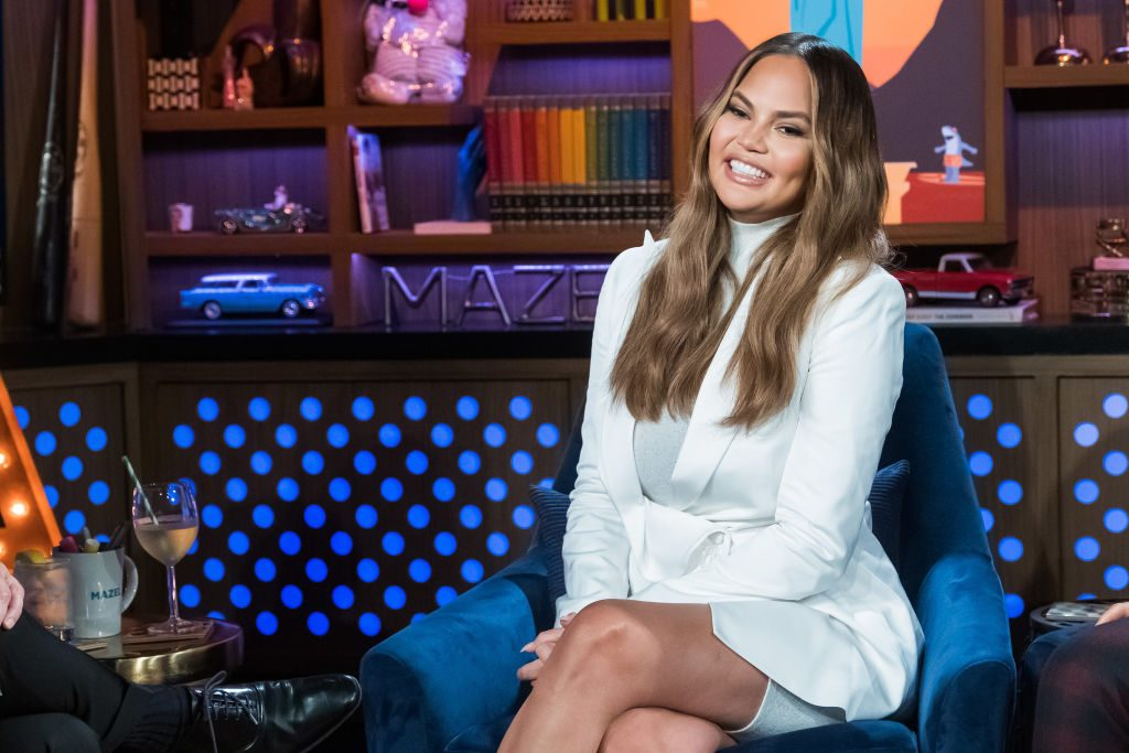 Chrissy Teigen on Watch What Happens Live With Andy Cohen - Season 16