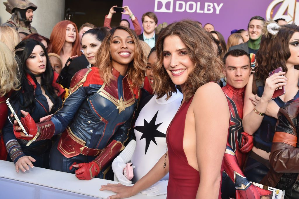 Cobie Smulders at the Avengers: Endgame