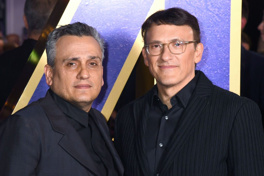 Joe Russo and Anthony Russo attend the Avengers Endgame UK Fan Event