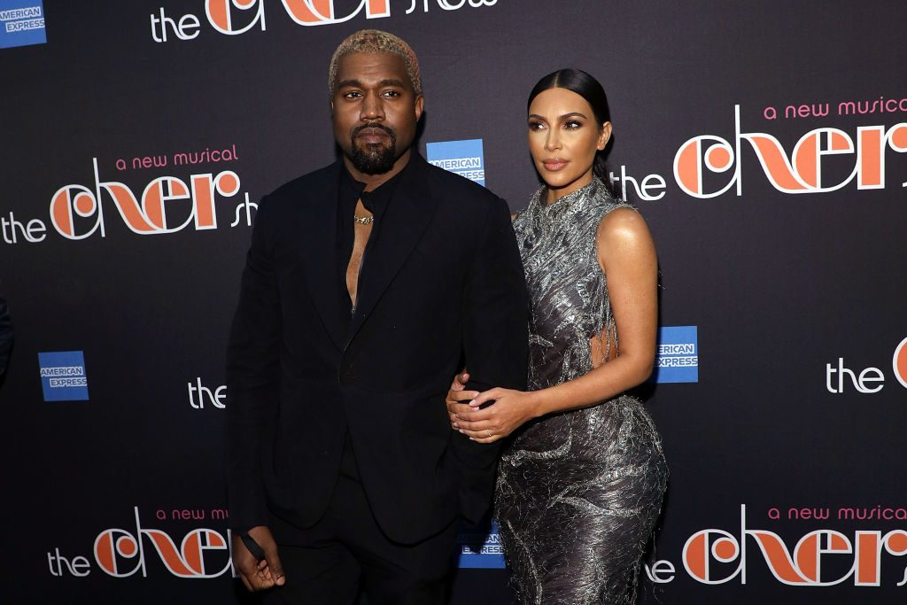 """Kim Kardashian and Kanye West at """"The Cher Show"""" Broadway Opening Night"""
