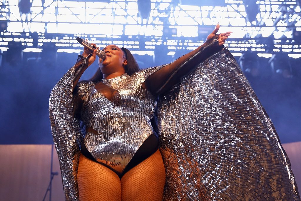 Lizzo performs at Mojave Tent during the 2019 Coachella Valley Music And Arts Festival on April 14, 2019, in Indio, California.