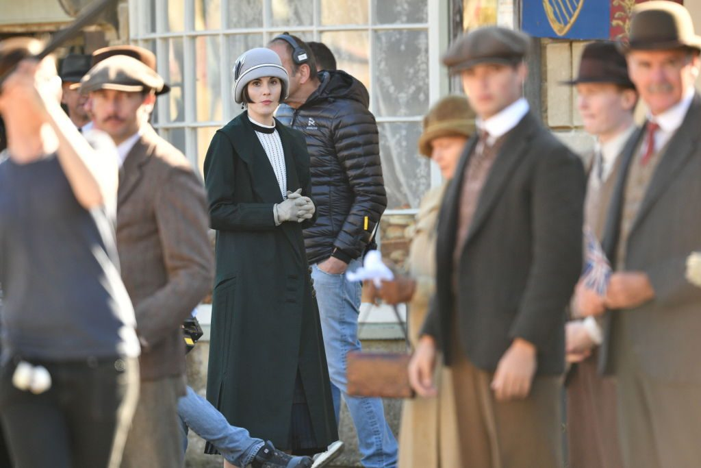 Michelle Dockery in the Downton Abbey movie