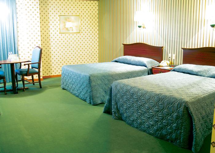 Room in older hotel