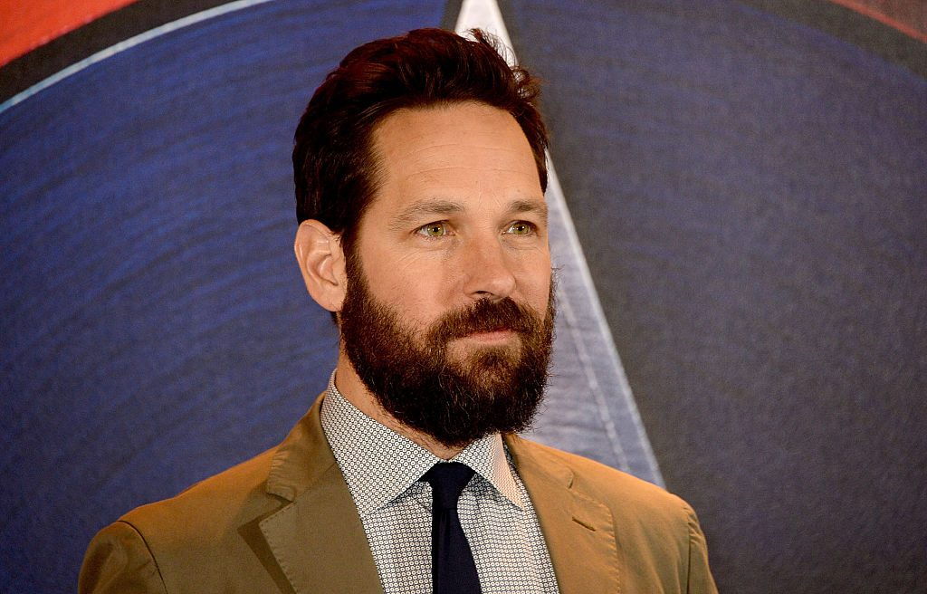 Paul Rudd poses at a photocall for Captain America: Civil War
