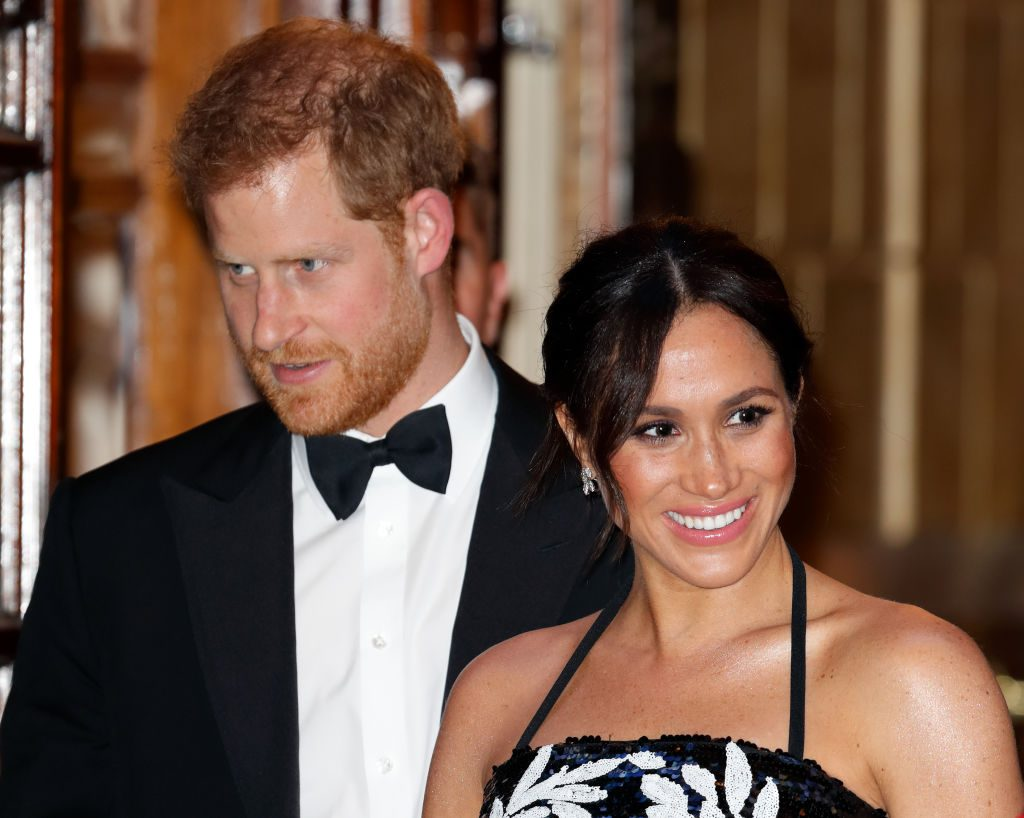 Prince Harry and Meghan Markle The Royal Variety Performance 2018