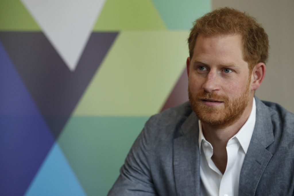 Prince Harry Meets Mental Health Organisations During Visit To YMCA