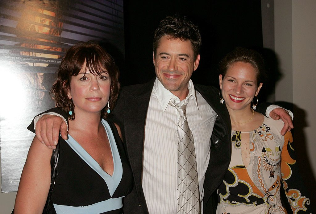Allyson Downey, Robert Downey Jr. and wife Susan Levin