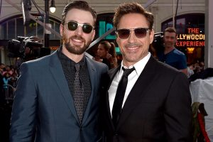 Are Robert Downey Jr. and Chris Evans Friends In Real Life?