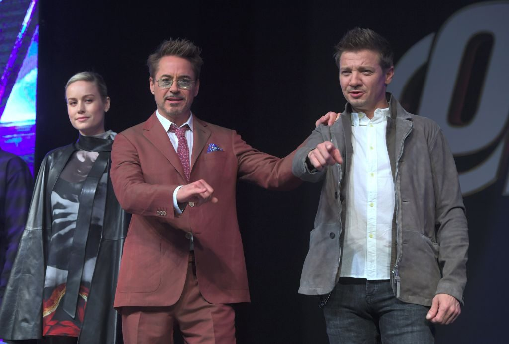 "Robert Downey Jr. Marvel Studios' ""Avengers: Endgame"" Asia press conference in Seoul"