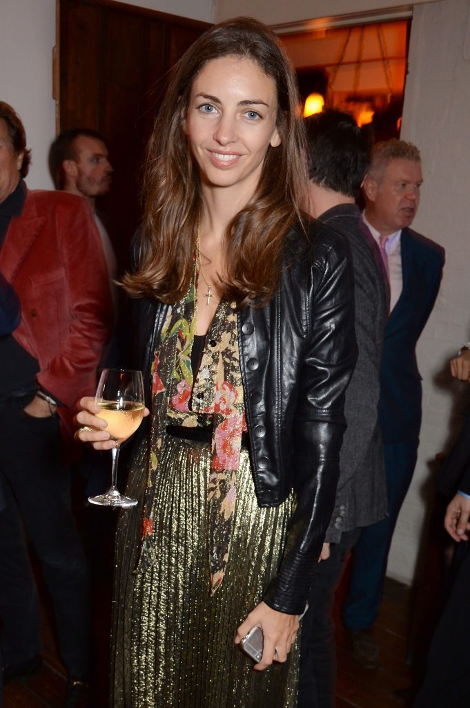 Rose Hanbury, Marchioness of Cholmondeley attends the Chris Levine 'Inner [Deep] Space' in benefit of Elton John AIDS Foundation private view hosted by David Furnish and Chris Levine at Village Park Studios