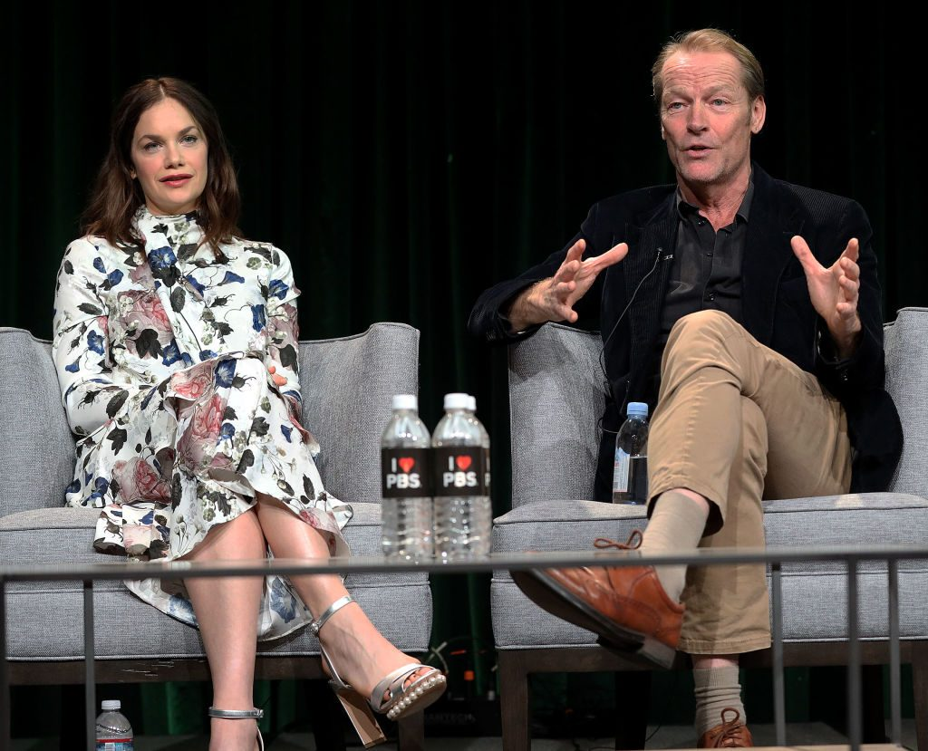 Ruth Wilson and Iain Glen