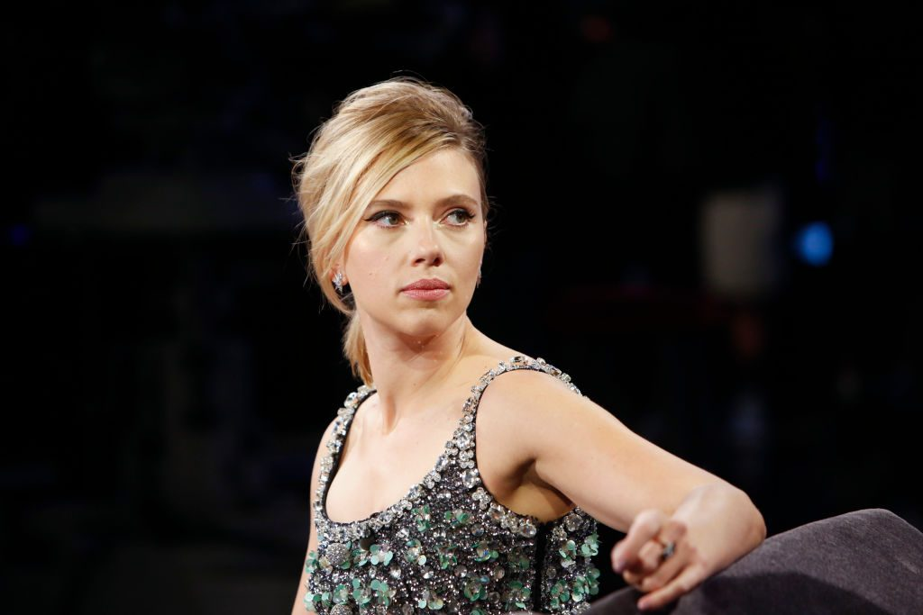 Scarlett Johansson on Jimmy Kimmel Live