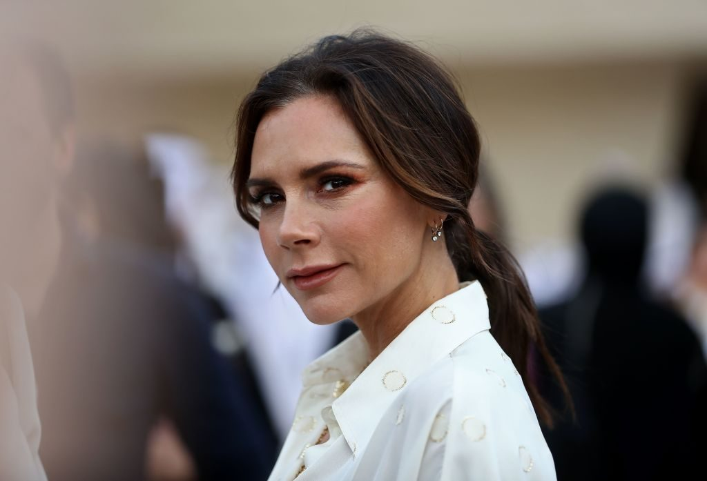 Victoria Beckham attends the official opening ceremony for the National Museum of Qatar.