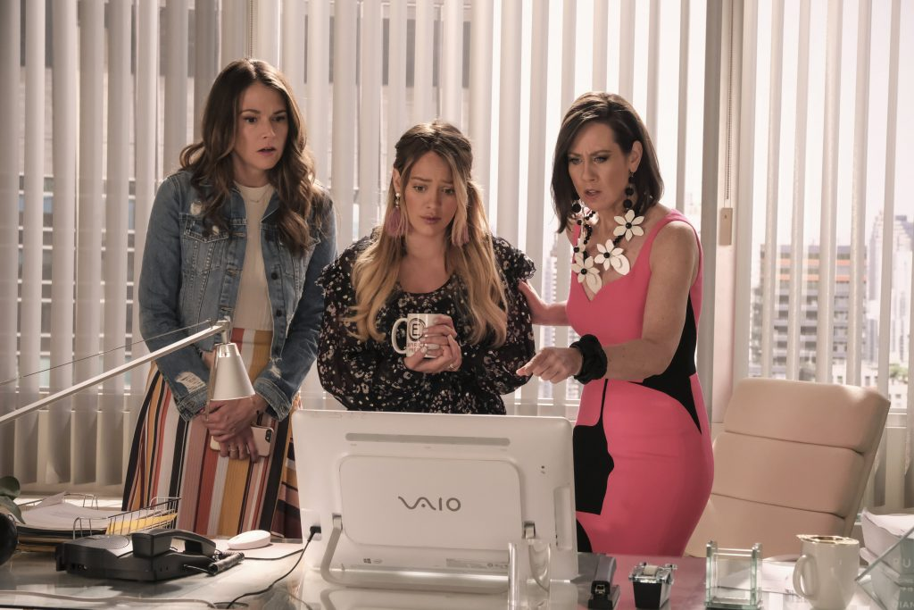 Sutton Foster, Hilary Duff, and Miriam Shor on Younger