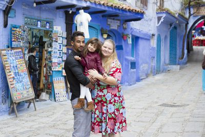 Azan and Nicole in Morocco
