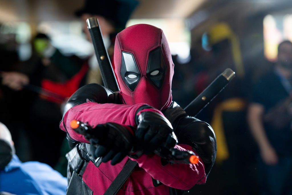 A fan dresses up as Deadpool | Roy Rochlin/Getty Images