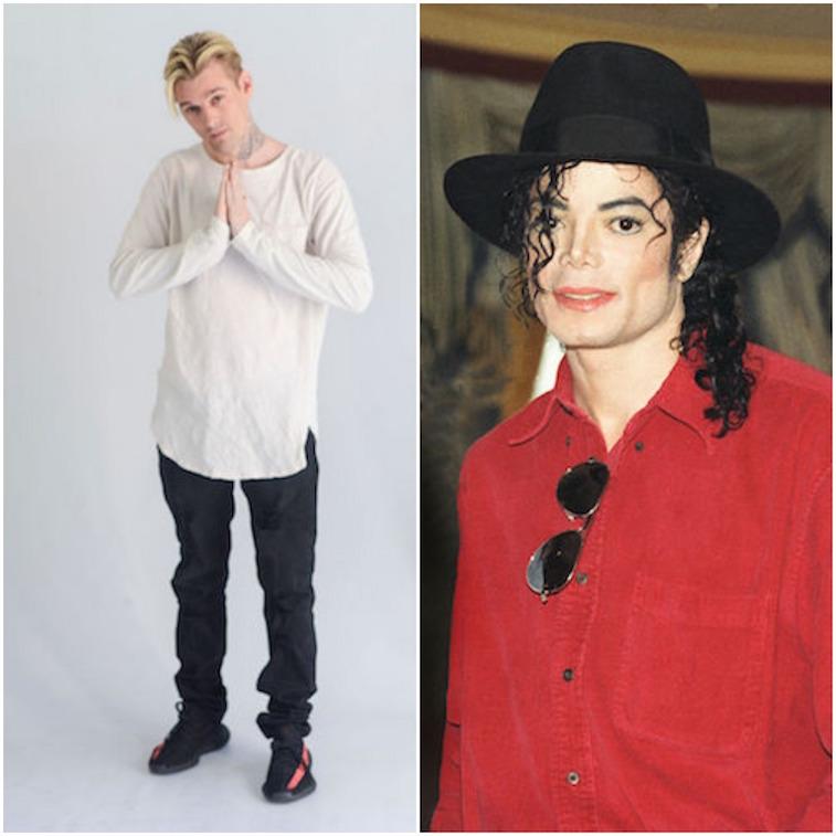 Aaron Carter/Michael Jackson