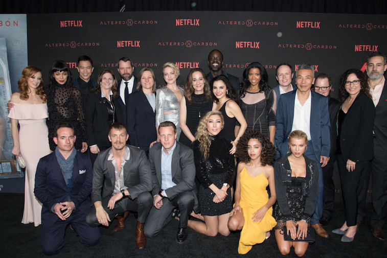 Altered Carbon cast