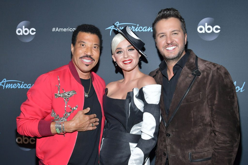 """Lionel Richie, Katy Perry and Luke Bryan attend ABC's """"American Idol"""""""