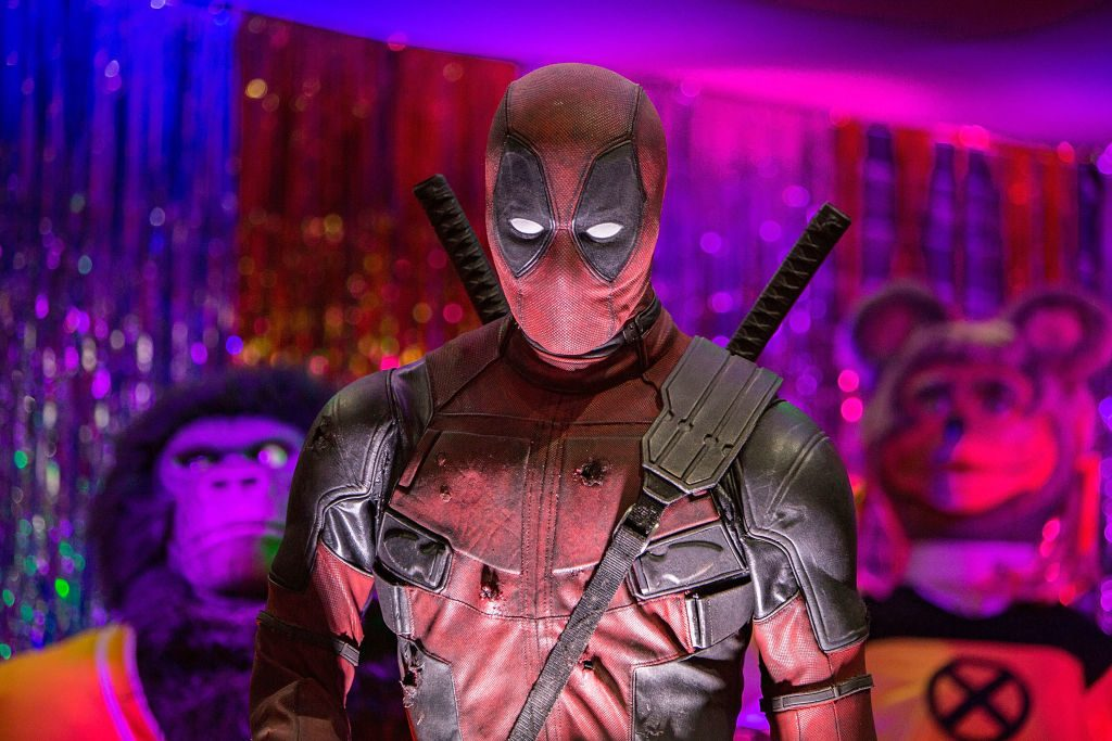 An animatronic Deadpool hosts Deadpool's Super Duper Dance Party  | Daniel Knighton/Getty Images