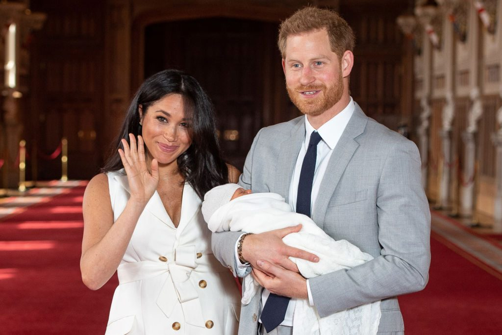 Meghan Markle, Prince Harry, and their son Harrison Mountbatten-Windsor