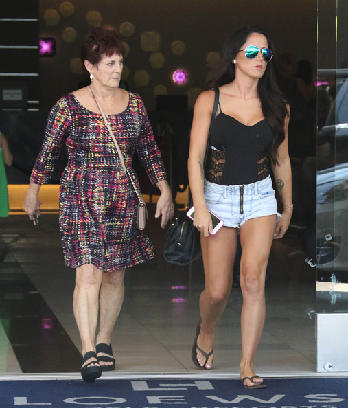 Jenelle and Barbara Evans