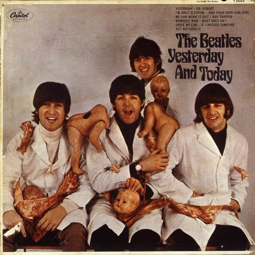 """""""Yesterday and Today"""" album cover by the Beatles"""