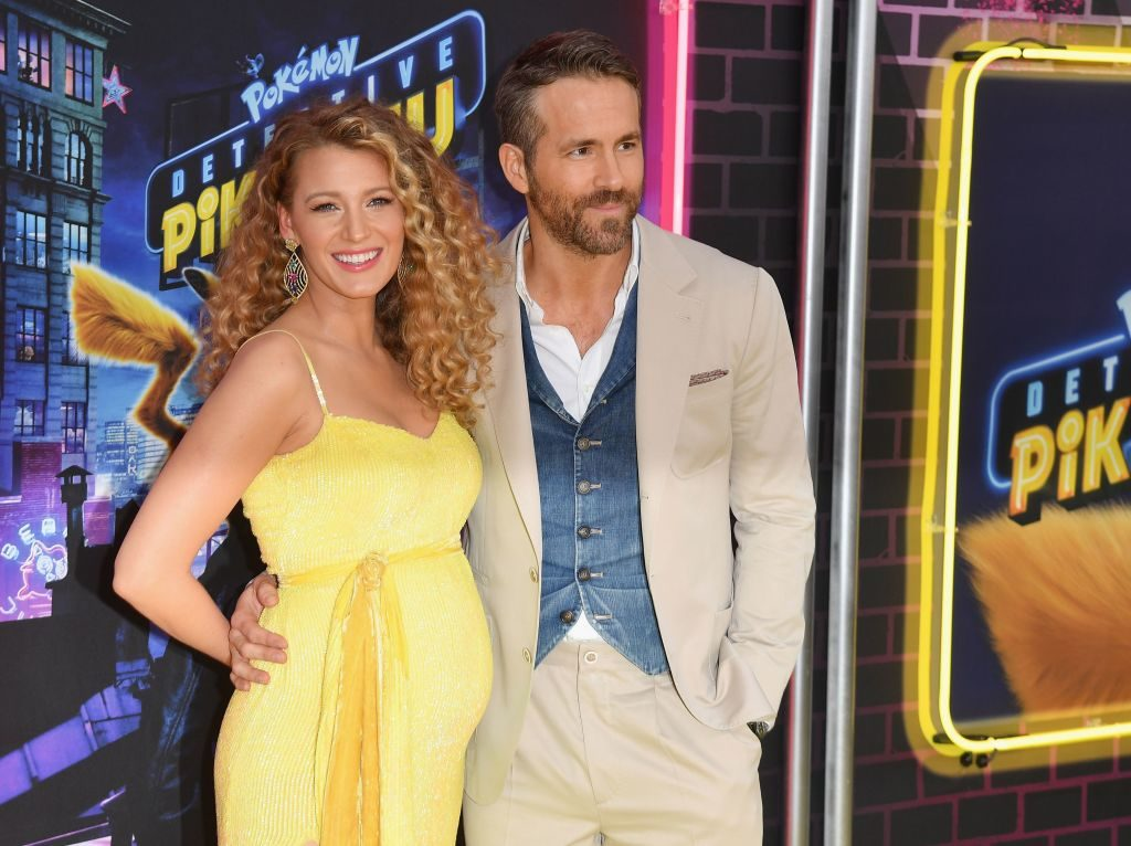 Blake Lively and Ryan Reynolds at 'Detective Pikachu' premiere